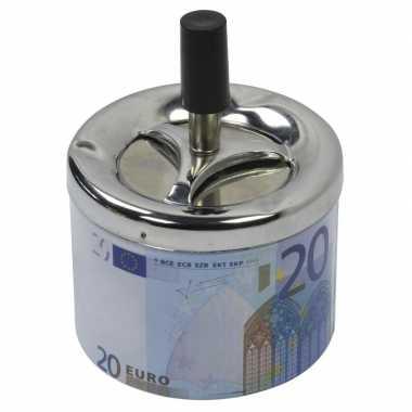Asbak met draaiende deksel 20 euro