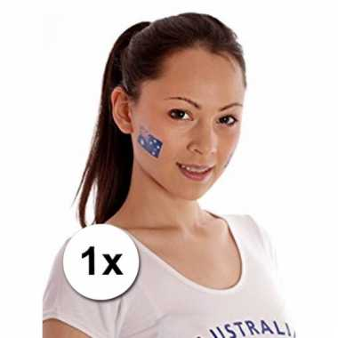 Australiaanse supporters tattoo