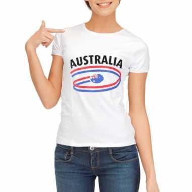 Australie vlaggen t-shirts voor dames