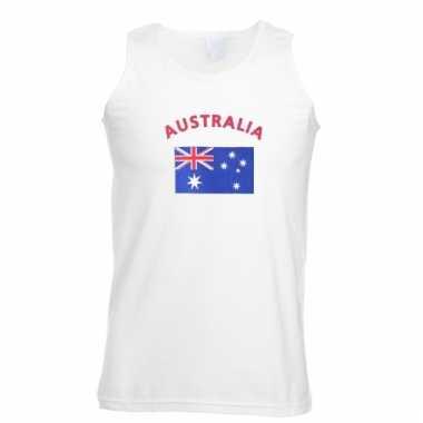Australie vlaggen tanktop/ t-shirt