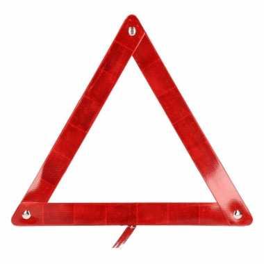 Auto accessoires gevaren driehoek