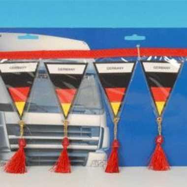 Auto mini vlaggenlijn duitsland 60 cm