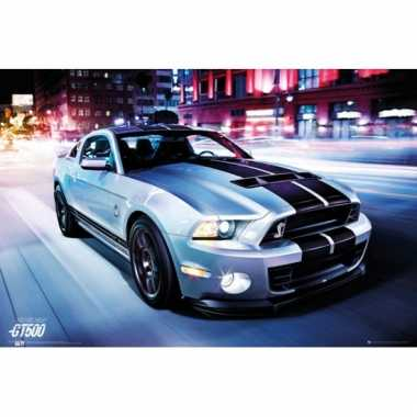 Auto poster ford shelby 61 x 91,5 cm