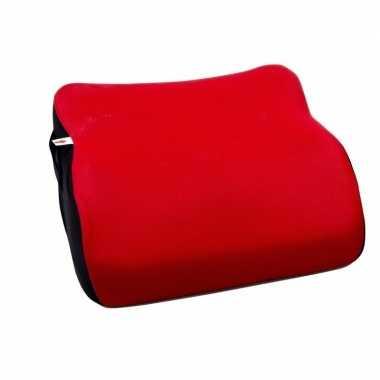 Autostoel zitje verhoger rood voor kinderen
