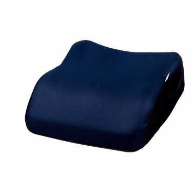Autostoel zitverhoger marine blauw voor kinderen