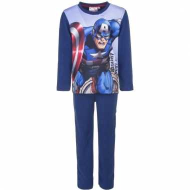 Avengers nachtkleding blauw voor jongens