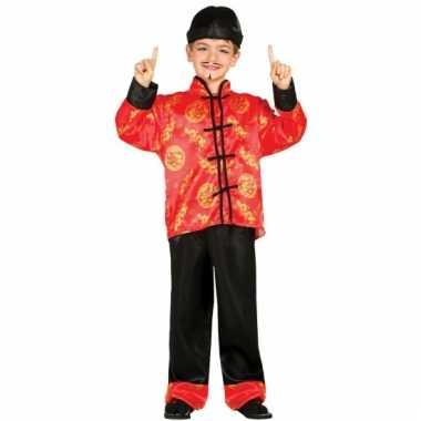 Aziatische verkleed kledingen voor kinderen