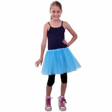 Ballet tule rokje blauw voor meisjes