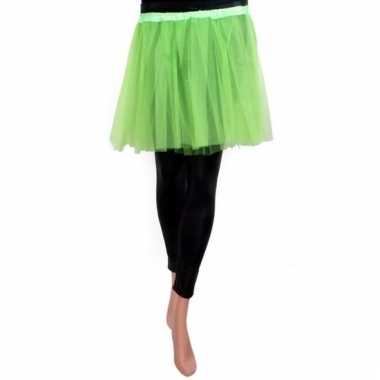 Ballet tule rokje groen voor meisjes
