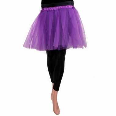 Ballet tule rokje paars voor meisjes