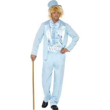 Blauw verkleedpak dumb and dumber voor heren