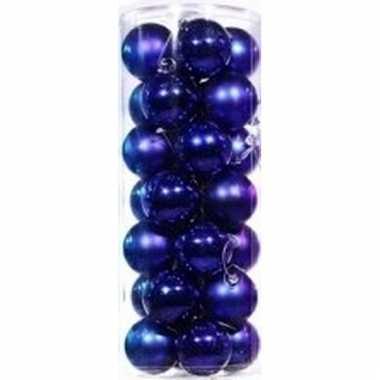 Blauwe Kerstballen 28 Stuks Pchoofdstraat Nl