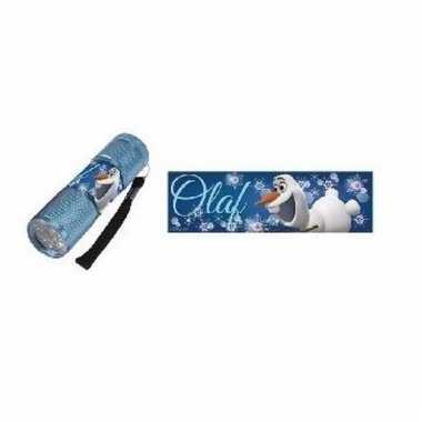 Blauwe zaklamp olaf frozen