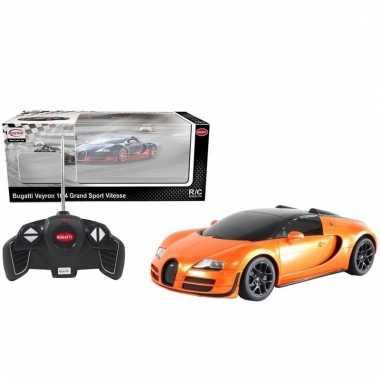 Bugatti veyron schaalmodel race auto 1:18