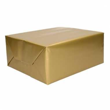 Cadeaupapier goud 70 x 200 cm