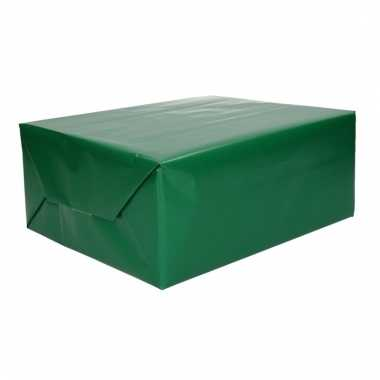 Cadeaupapier groen 70 x 200 cm