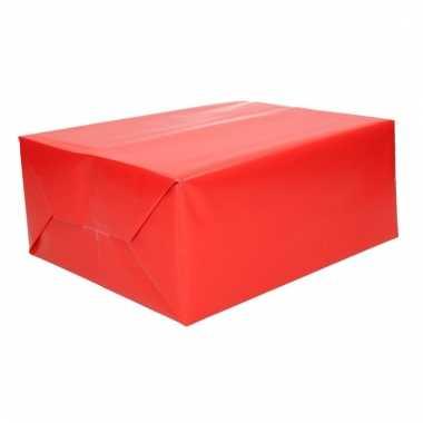 Cadeaupapier rood 70 x 200 cm