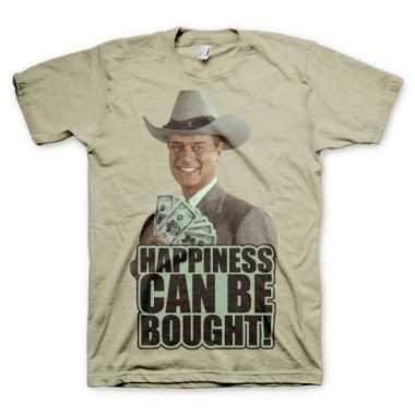 Dallas khaki kleding heren t-shirt