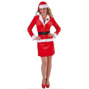 Dames kerst mantelpak