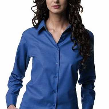 Dames oxford blouse