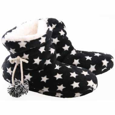 Dames pantoffels in het navy