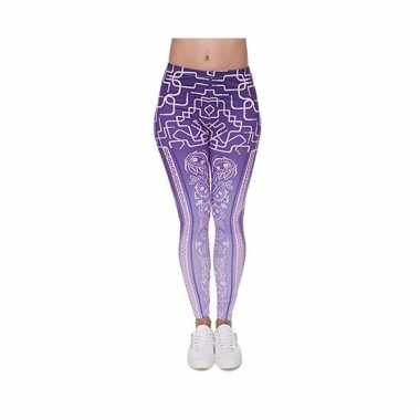 Dames party legging thema