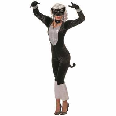Dames verkleedkleding kat