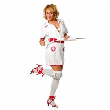 Dames verpleegster carnavalskleding