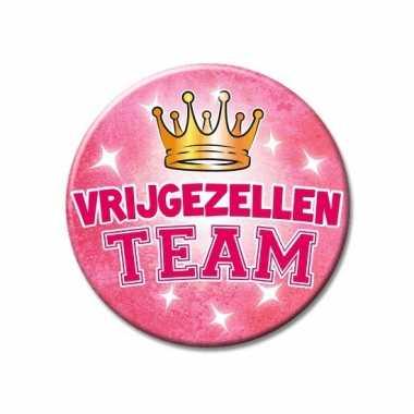 Dames vrijgezellen team button groot