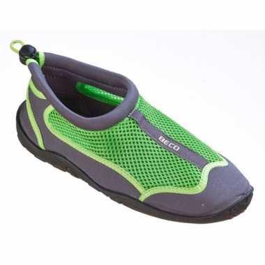 Dames waterschoenen groen