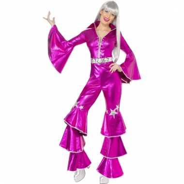 Dancing queen kleding roze