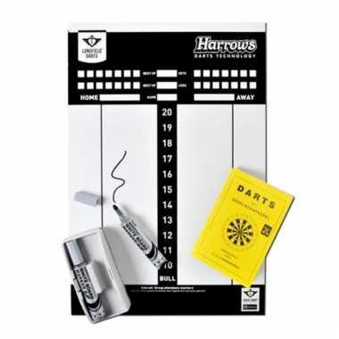 Dartspel scorebord set