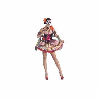 Day of the dead kostuum voor dames