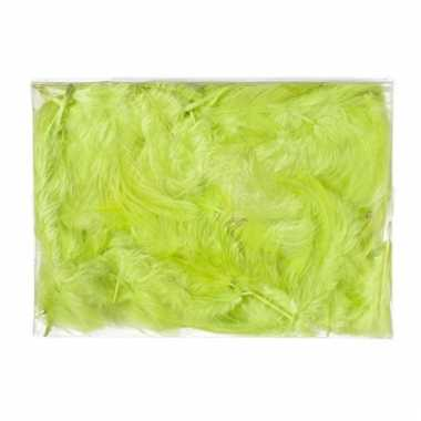Deco donsveren groen 5 gram