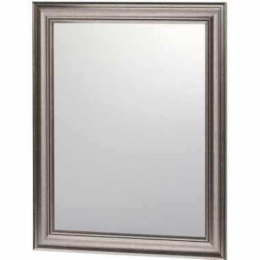 Deco spiegel met antraciet lijst 30 x 40 cm