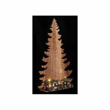 Decoratie kerstboom koper 39 cm