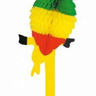 Decoratie papegaai van papier