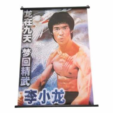 Decoratie poster bruce lee
