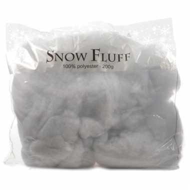 Decoratie sneeuw vlokken 200 gram