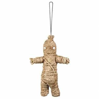 Decoratie voodoo poppetje 33 cm