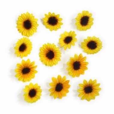 Decoratie zonnebloemetjes