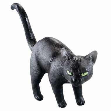 Decoratie zwarte kat