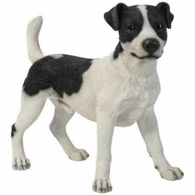 Decoratiebeeld jack russel hond 35 cm