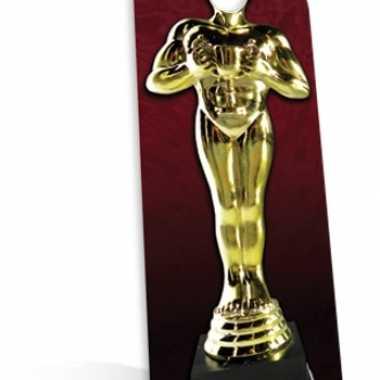 Decoratieborden stand-in award beeld