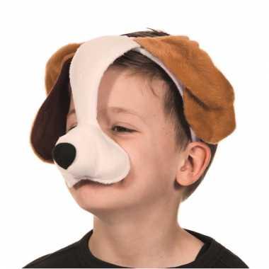 Diadeem honden masker met geluid