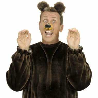 Diadeem met beren oortjes