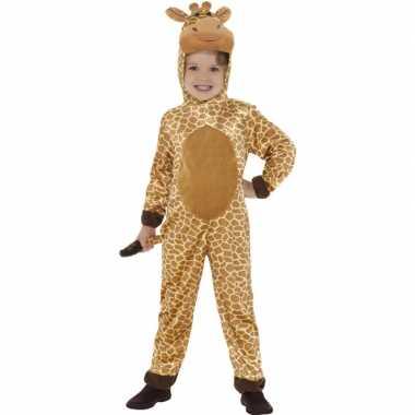 Dieren onesie giraffe voor kids