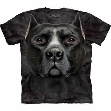 Dieren shirts pitbull hond voor volwassenen