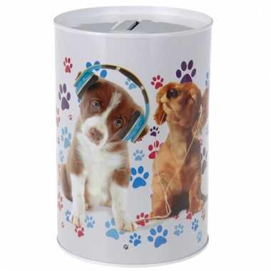 Dieren spaarpot honden 15 cm