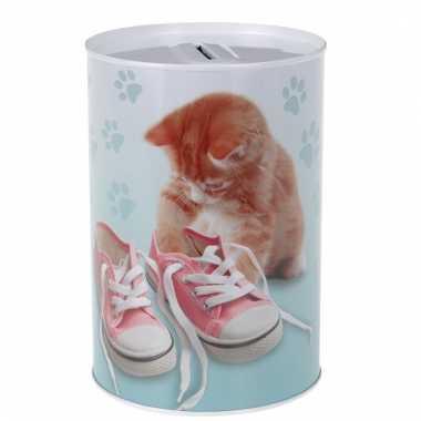 Dieren spaarpot katten poezen 15 cm 10106959